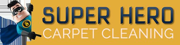 Super Hero Carpet Cleaning Logo